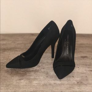 Chinese Laundry Black Suede Pump